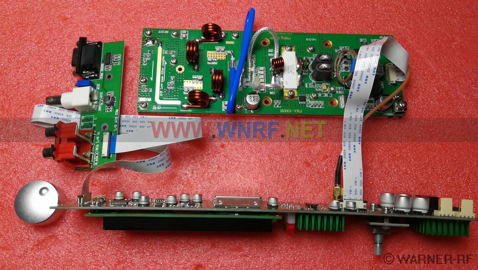 Fma 1000h 1000w Fm Stereo Broadcast Transmitter Pcb Kits 1w Circuit